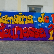 Semaine de la jeunesse 2013 atelier graff